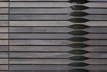 D A R K . T I M B E R / A collection of dark toned timber...
