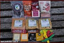 """Vegan Swap Boxes / I joined the swap box system that """"tohappyvegans"""" organise and this is what I have sent and received to date"""