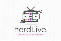 Nerd Logos for Sale by LogoMood.com - Melanie D / LogoMood.com  - Melanie D's Nerd Logo designs for sale at: LogoMood.com