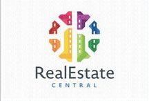 Real Estate Logos for Sale by LogoMood.com -Melanie D / LogoMood.com - Melanie D's Creative Real Estate Logo for sale at: LogoMood.com