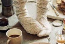Cocooning / Rester au chaud chez soi...