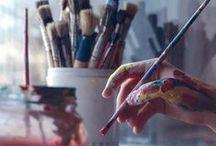 Paintings / Atelier / Artist