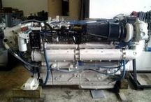 Used Marine Engines / Used marine diesel engines for repower of yachts and marine vessels.