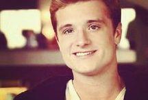 Josh Hutcerson / Love the boy with bread. :)