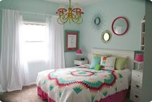 Ella's Inspiration / My beautiful daughters fav colours, hairstyles and bedroom ideas.