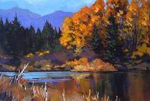 Art - Landscapes / Landscape art, oil paintings, acrylic paintings, watercolour paintings, drawings.