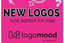 ~ LogoMood.com Our NEWEST LOGO ARRIVALS ~ / Check out logomood.com for our latest new logos for sale.