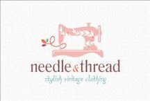 Sewing and Craft Logo's for sale by LogoMood.com Melanie D / LogoMood.com - Melanie D's beautiful collection of Sewing and Craft logos for sale at logomood.com