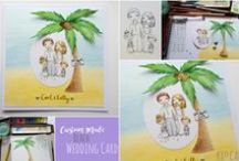 BESPOKE CARDS / Uniquely personal, custom made cards created with your own design ideas!
