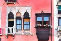 Häuser Fasaden