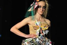 Olivia's Trash To Fashion / School project