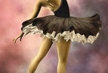 Ballett / Diverse Bale  Alles was mit Ballett zusammenhängt