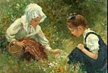 Alte Kinderfotos und Bilder