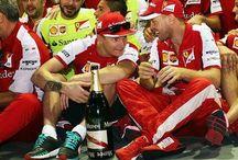 Simi ❤️ / Kimi Räikkönen & Sebastian Vettel
