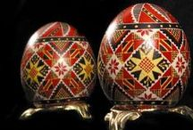 Pysanky from Lviv / Ukrainian Pysanky from Artists unknown to us in the Lviv region