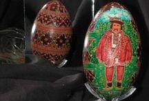 Goose Pysanky from Lviv / Goose Pysanky purchased in Lviv Ukraine