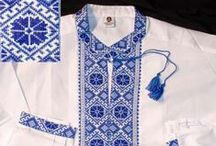 Embroidered Men's Shirts / Traditional  Ukrainian Hand Embroidered Men's Shirts http://www.allthingsukrainian.com/Cloth/MenShrts/index.htm