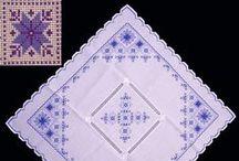 Ukrainian Vyshyvky / Small Ukrainian hand made Embroideries