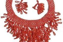 Gherdany Bead Jewelry / The Traditional Art of Ukrainian Beadwork Jewelry handmade in Ukraine Sold on AllThingsUkrainian.com
