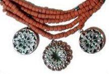 Ukrainian Ceramic Jewelry / Handmade Ceramic Jewelry from Ukraine originally sold on allthingsukrainian.com