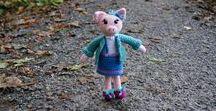 Crochet Toys / Crochet toys made by Werka tu i tam