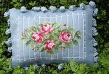 Cross Stitch/Needlepoint Finishing Ideas / Tons of ideas for finishing cross stitch / by Loves Frills