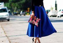 Trends: Midi Skirts