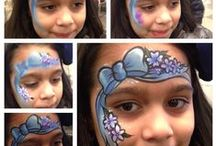 face painting  girls / by Healthylifestyle4all