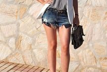 Trends: Styling Denim Shorts / Denim shorts in a multitude of ways!