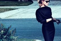 Classic Looks: LBD / Little Black Dresses and gorgeous not so little ones.