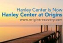 Hanley Center at Origins / Hanley Center at Origins, part of the Origins Recovery Centers' family of addiction treatment centers, is located in a tropical campus setting in West Palm Beach, Florida. Hanley Center at Origins provides a broad range of programs based on the most advanced research in the disease of addiction.