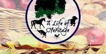 """A Life of Heritage"" / Round 'em up! A range of posts from ""A Life of Heritage"" www.alifeofheritage.com | Horses | Horse Care | Cowboys | Cowboy Lifestyle | Homesteading | Farm Life | Faith | Christian Living | Seeking God"