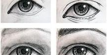 ako kresliť telo,oči ,nos ústa99