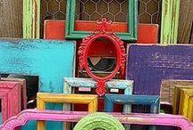 Decor ideas / Living life in color.