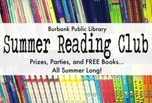 Summer Reading Club / Looking for FREE summer fun? Head to Burbank Library for 6 weeks of magic shows, comedians, jugglers, LIVE animals, prizes, FREE books, and more!  / by Burbank Public Library