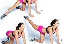 fitness exercises / collection of fitness exercises