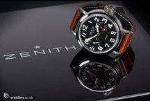 Zenith Watches / Stunning images of our Zenith watches in stock. Looking to buy a pre owned Zenith or sell your Zenith Watch? Contact www.watches.co.uk or call us on 02089944567