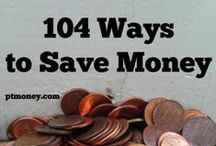 Saving Money Saturday / It's the weekend and it's time to think about saving money...