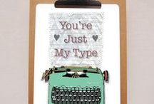Folksy Finds - The Write Stuff... / Celebrating old-fashioned words, handwritten letters, old typewriters... forgotten, personal, non-digital communication