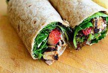 Snack, sandwich, roll