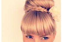 Haare / Haare flechten,Frisuren