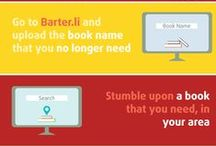 The Idea / barter.li is an app which is a must for anyone who loves to read. It is about a book sharing experience like never experienced before. We are trying to form a huge, global book club where we can get an opinion about a book from a person who has already read it before reading it ourselves. We can directly interact with the owners of the books before deciding to read it.