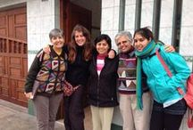 Visitando Proyectos en Perú / Rocío visita nuestros proyectos de Perú en viaje de seguimiento.