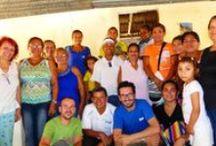 Visitando Proyectos en Colombia / Jesús, de viaje de trabajo en Colombia.