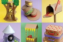 Cardboard ideas / Cardboard wonderful ideas