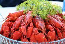 Crayfish party / Omat rapujuhlat + ideoita rapujuhliin