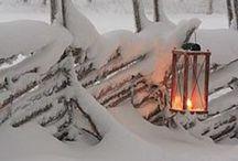 Winter / Ideoita talvipihaan