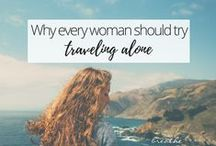 Travel Tips for Women / Tips to help women get prepared to go travelling