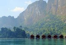 Travel Thailand Khao Sok National Park | Maaike van Wijk Design Studio / Beautiful nature - caves - spiders - snakes - bats!