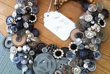 Button jewelry ideas / Great use of buttons